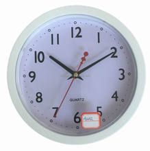 10 inch Promotional Plastic Wall Clock Wall Mounted