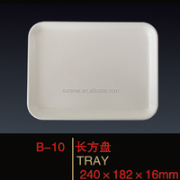 2014 popular wholesale melamine serving tray