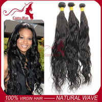 Carina Hair Products Natural Wave Best Quality Natural Color 100% Human Virgin Hair Pieces