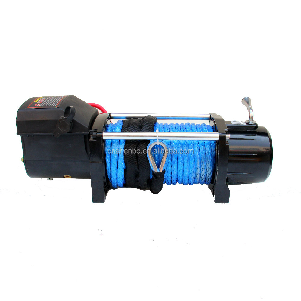 China manufactor 4x4 Manual hoist DMX 3 ton mini 2000 lb 12v electric winch