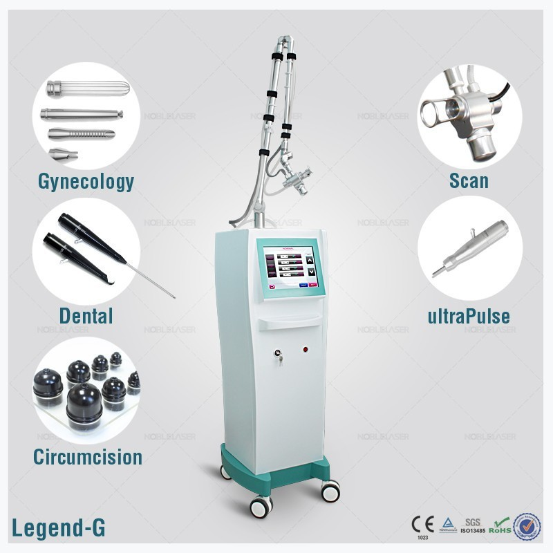 10600nm CO2 Fractional Laser rf tube surgical equipment beauty treats cosmetics