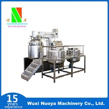 QUALITY FIRST industrial vacuum emulsifying mixer homogenizer