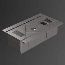 3D Restaurant Kitchen Project Island Suite for large hotel and restaurant center kitchen appliances