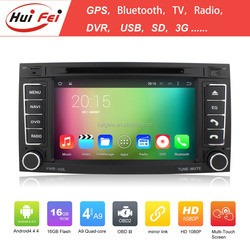 Pure Android 4.4 Double Din Car GPS For VW Transporter T5 Multivan Support SD DVD GPS Bluetooth Mirror Link