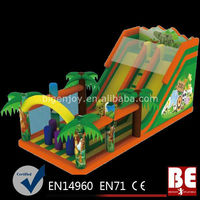 Safari Animal Inflatable Slide Playground