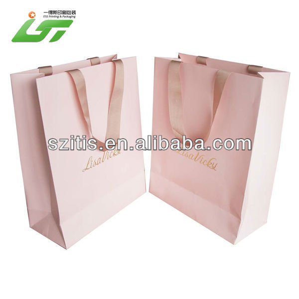 Luxury Custom High Quality happy birthday paper bags