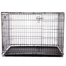 2017 Hot sale wholesale strong stainless steel dog cages with wheels