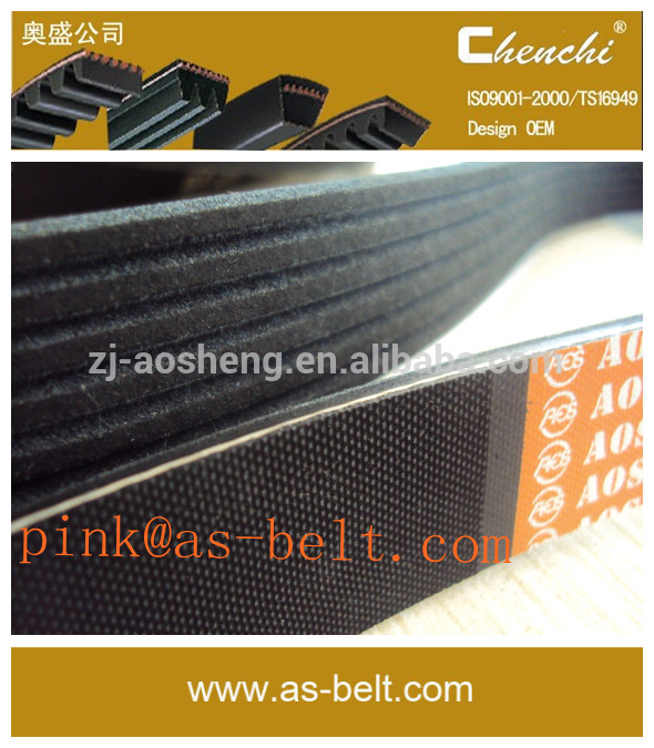 auto timming belt,pk belt,transmission belt fatigue life 10,000km EPDM CR material,factory outlet,large amount of the price.