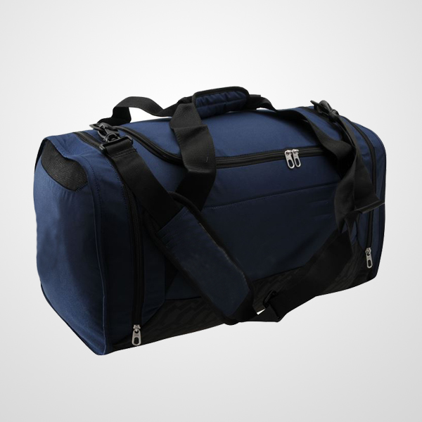 Medium Grip Duffle Bag With Adjustable And Detachable Padded Shoulder Straps