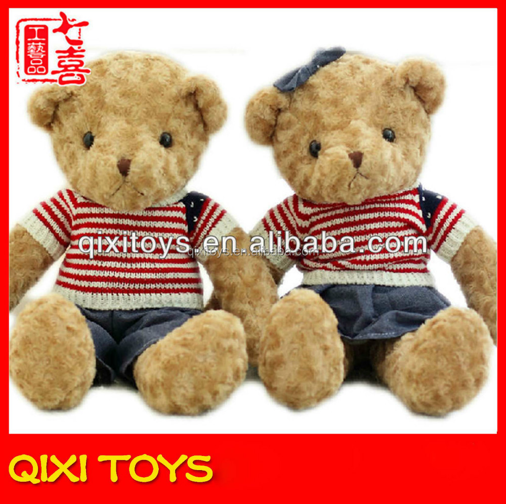 cheap sex doll funny recording plush teddy bear toy for christmas plush musical christmas toy