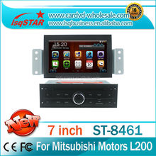 High quality Car stereo radio audio dvd gps mp3 3g multimedia system for Mitsubishi L200
