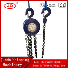0.5T -20T HSZ Manual Chain Hoist Lifting Block Specifications Of Chain Block