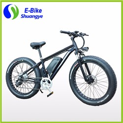 26*4.0 inch hidden battery LCD display fat tire electric bike