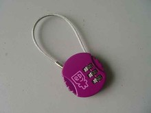 China Wholesale Customized Pink Combination Lock