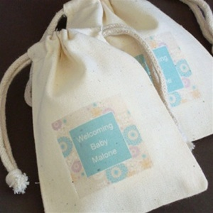 Printed Poly Cotton Drawstring bags , Macrame Drawstring bags , Fabric woven Bag
