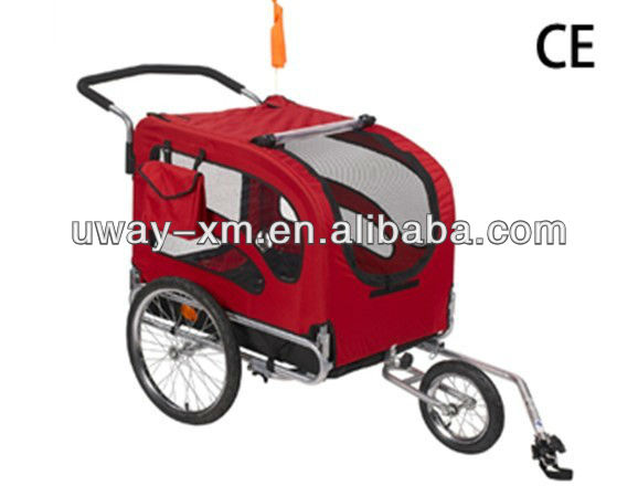 Luxury large pet bike trailer for dogs