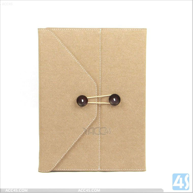 Briefcase Style Ultra Thin Leather Case for iPad 2/3/4 P-iPAD234CASE084