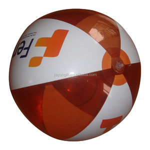manfactory pvc inflatable ball with logo printing by UV machine