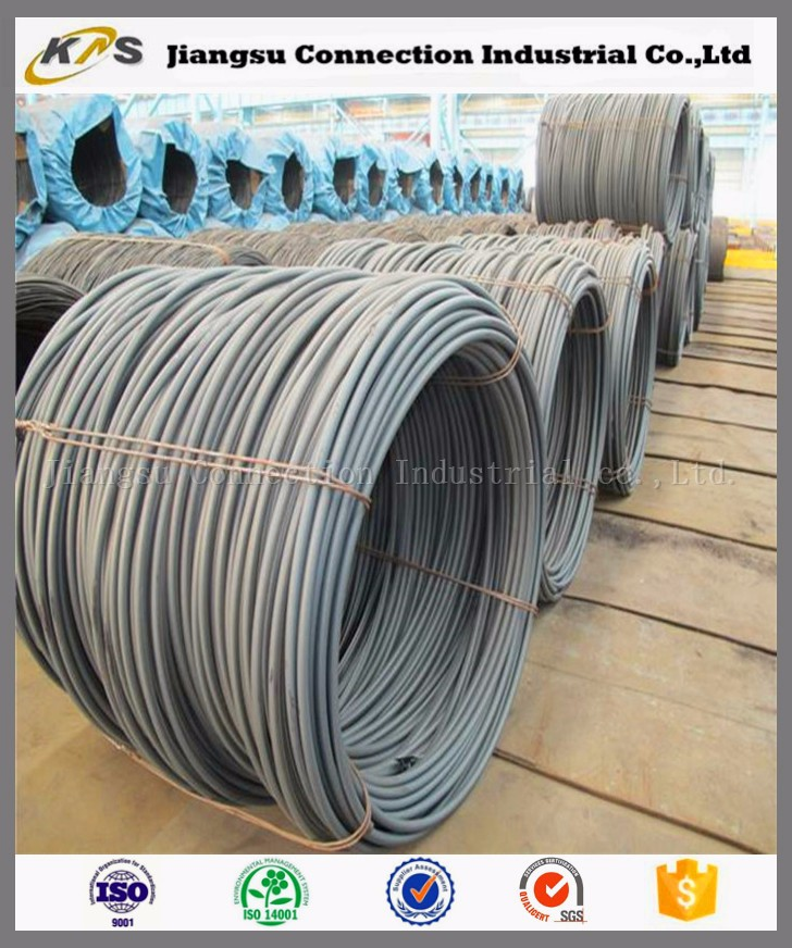 pickled wire SAE 1008 spring steel wire rod for building construction materials