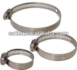 STAINLESS STEEL QUICK RELAEASE HOSE PIPE CLAMP