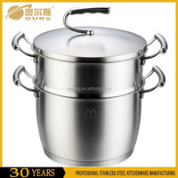 Hot sell and good price metal steamer and cooking pot