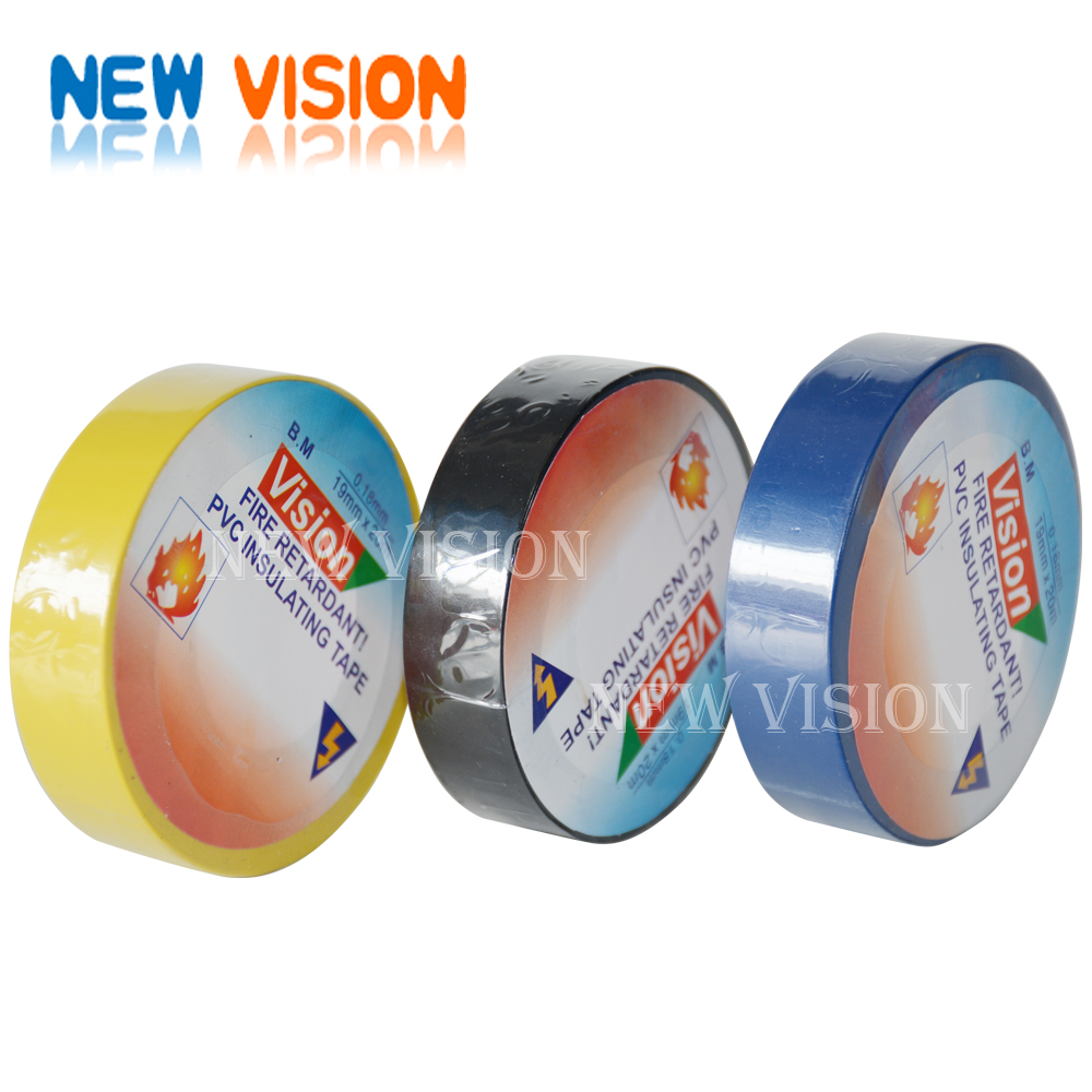 Waterproof outsided electronic wrapping PVC insulation tape