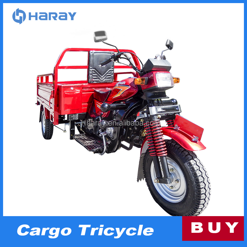 China Manufacture Gas Motor Tricycle for Business