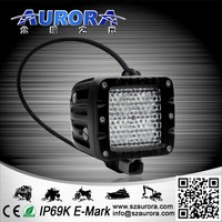 "hid off road light 40W 2"" Square Off Road light diffusion light"