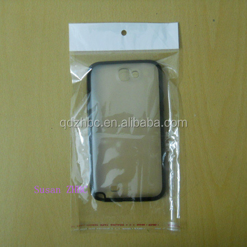 clear self seal plastic retail packaging opp poly bag for cell phone case