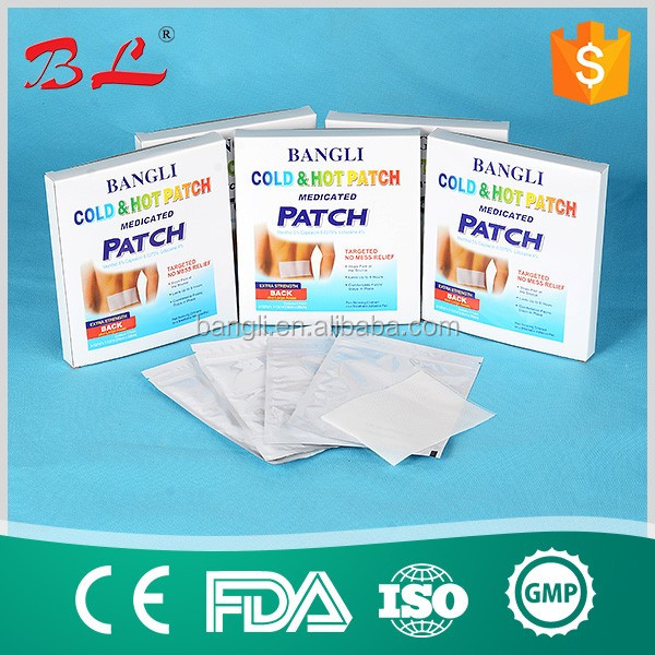 chinese transdermal patch/Medicated cold hot pain relief patch