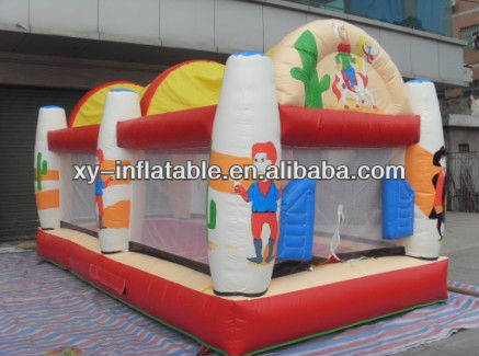 hot sell giant inflatable trampoline big inflatable bouncer
