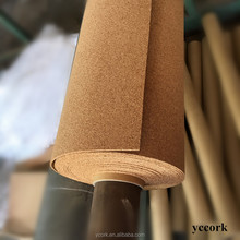 4mm*1m*30m thick natural cork roll with competitive price-Made in China