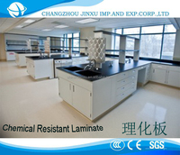 compact laminate table top; Chemical Resistant Laminate ;HPL