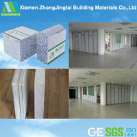 Prefabricated House And Wall Panels Precast Foam Rock Panel Cladding
