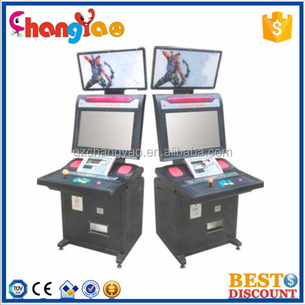 "Classical HD Arcade Cabinet Fighting Game Machine Single Player 22"" 32"""