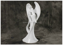 UK Modern Resin Ange Wings One Piece Figure Statue With White Home Interiors Decor Wholesale China Folk Art And Craft Supplier