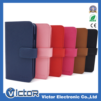 Multifunction card slot wallet leather case for iphone 6s