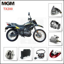 motorcycle parts and accessories for keeway TX200 motorcycle parts