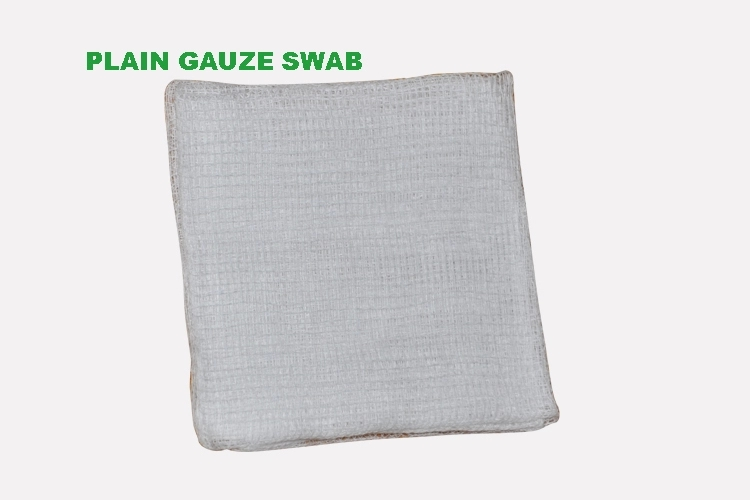 medical gauze 4x4 sponge swab with radiopaque thread