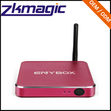 Топ продаж media player Android 6.0 TV Box 2 ГБ + 16 ГБ Amlogic S912 чип 4 К EM92 полный HD smart Set Top
