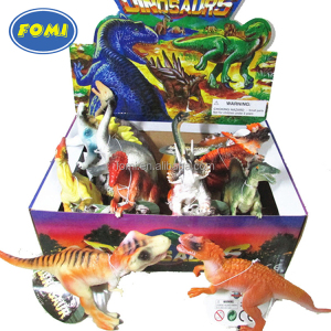 Wholesale China kids PVC plastic dinosaur world toys set