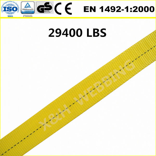 "3"" 29,400lbs lifting sling belt"