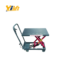 Professional manual /hand crank hydraulic heavy duty scissor lift table