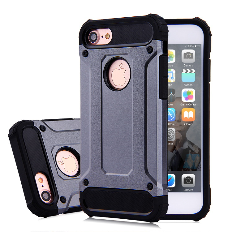 Top Sale 2 in 1 TPU+PC Combo Protective Cell Phone Rugged Armor Case