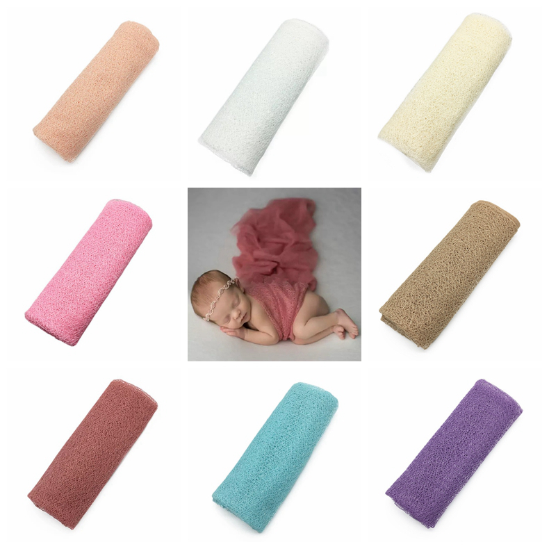 Newborn Baby Photography Photo Prop Wrap Stretch Wrap Wholesale Rayon Wraps Blanket