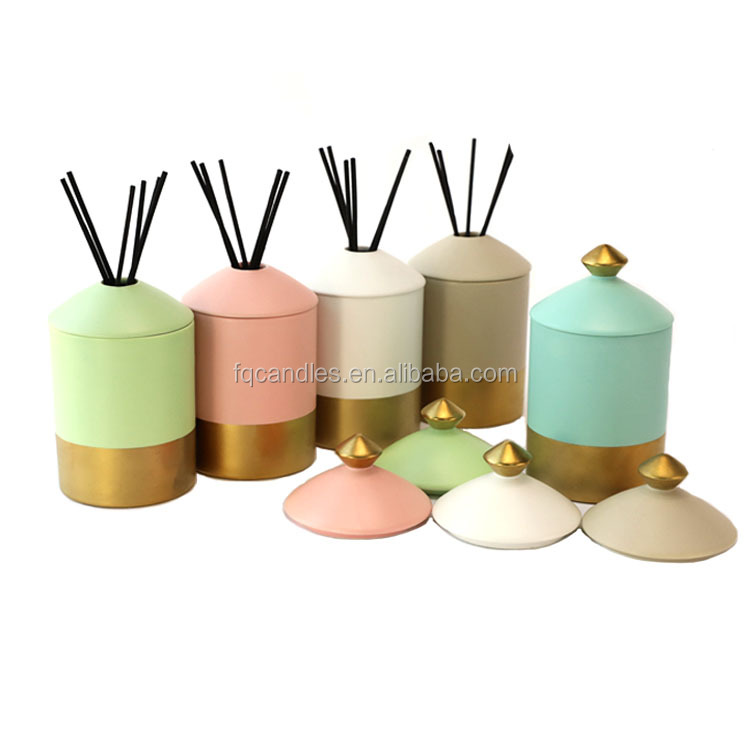Wholesale fragrance aroma reed diffuser bottle ceramic