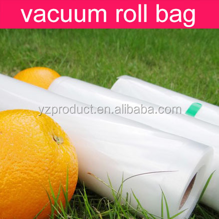 Plastic vacuum embossed packing bag for vegetable