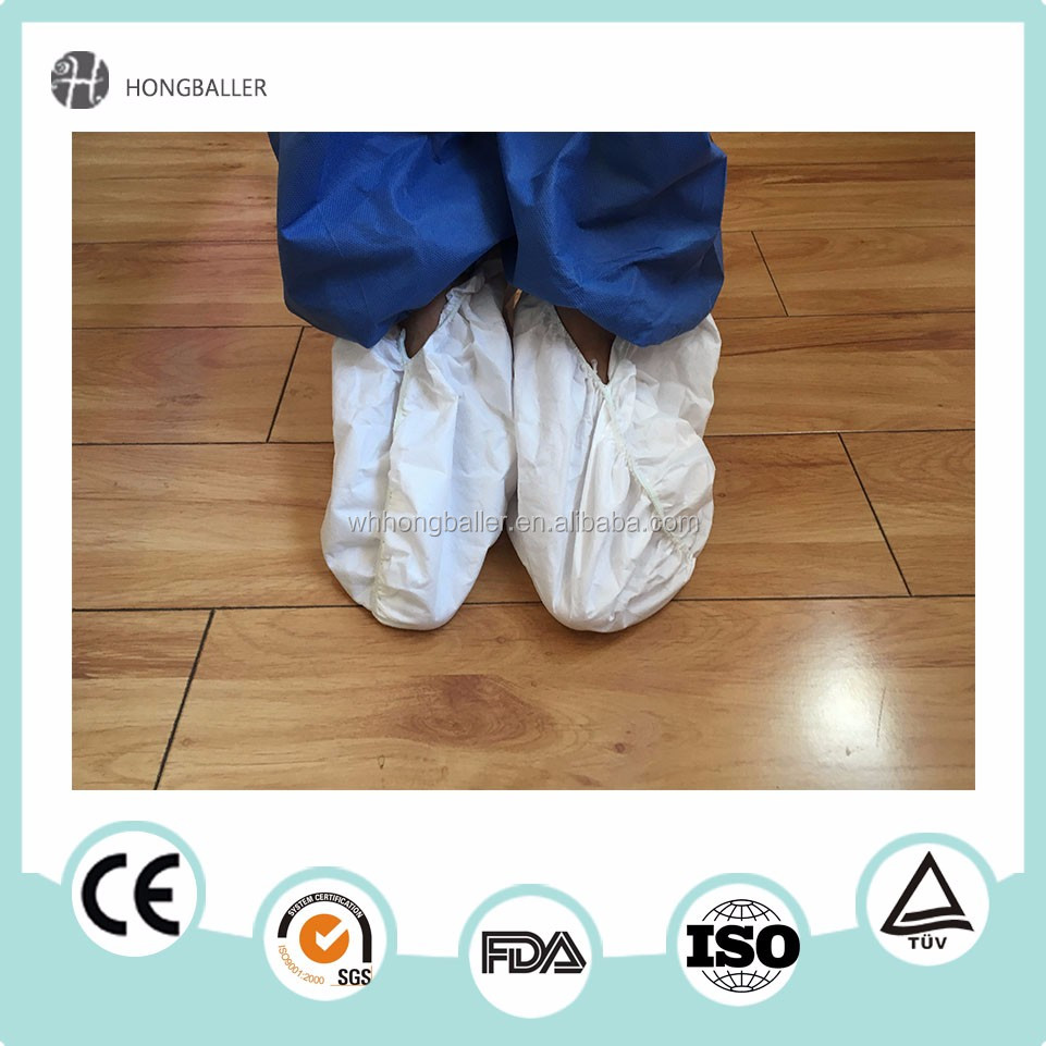 Medical Disposable Shoes Cover ,CPE Plastic Rain Waterproof Indoor Overshoes