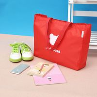 Elegant appearance new products personalized folding nylon tote bag