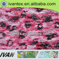 2015 fashion new design polyester spandex fancy lace valance fabric